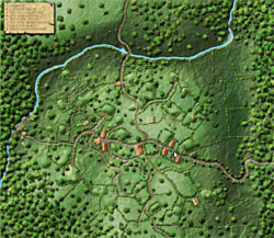Lilium, Halfling Village - Courtesy Campaign Cartographer's Guild. Click for full size.