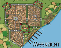 City of Meerzicht - courtesy of Cartographers Guild, click for full size.