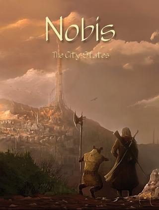 Nobis cover art by Eren Arik © Pantheon Press LLC