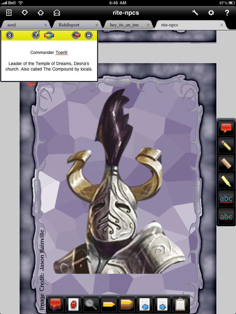Hero System 5th Edition Bestiary Pdf Viewer macgualo ipad-rpg-app-review-iannotate-5