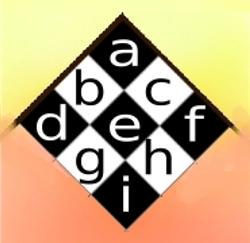 3x3-chessboard