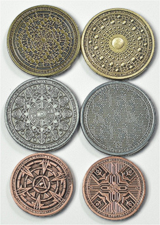 scifi coin set