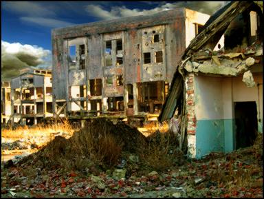 post industrial ruins