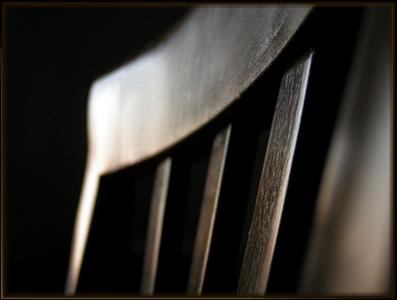empty chair by Andreea Scutariu