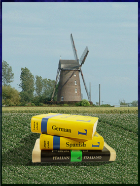 Windmill with Guidebooks