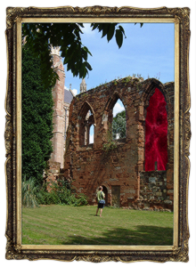 Ruined Arches 2 by FreeImages.com/Ruth Harris Frame by FreeImages.com/Andrew C.