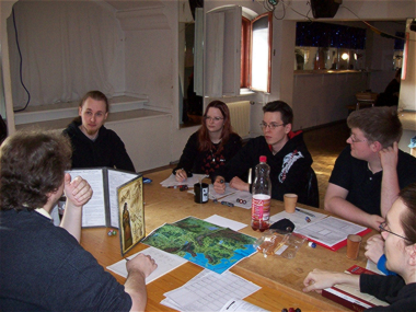 Role Playing Gamers at the Burg-Con in Berlin