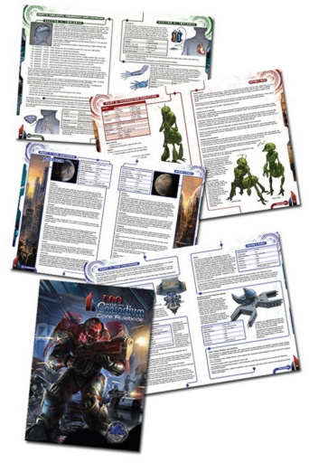 Pages from the Era: The Consortium Core Rulebook