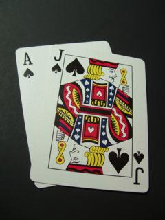 Blackjack 2 by Tracy Scott-Murray