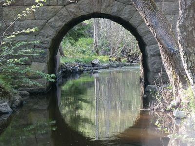 Old bridge in Sweden by FreeImages.com / Owe Sleman
