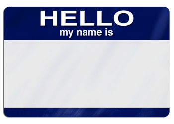 Blank Nametag by blogmonkey (edited)
