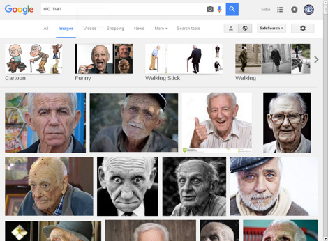 Google Image Search results for 'old man'
