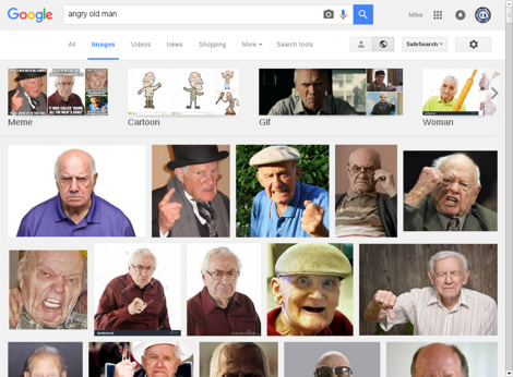 Google Image Search Results for 'angry old man'
