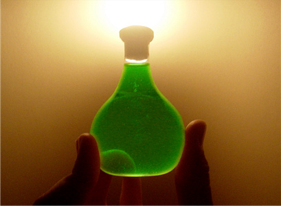 Elixir by Alexandre Jaeger Vendruscolo, color-shifted green