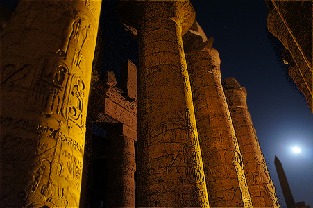 Temple at Luxor in Egypt