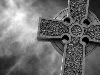stone cross by Bob Smith