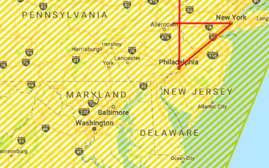 5-triangle-ny-to-philadelphia-aprox-100m