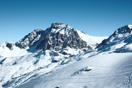 Snowy Mountain 1 by Tamlyn Rhodes