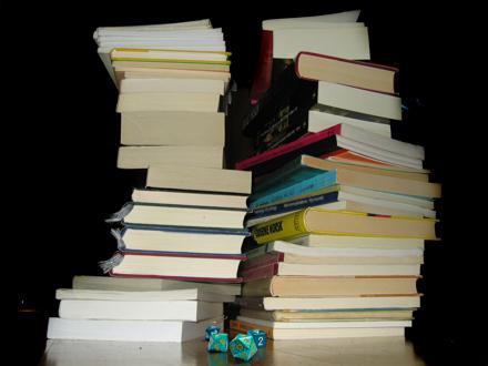 stack-of-books-plus-dice