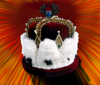 Crown with Dragons and effects