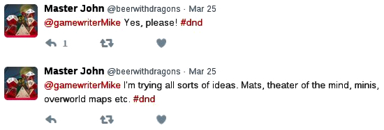 Yes, please! I'm trying all sorts of ideas. Mats, theater of the mind, minis, overworld maps etc.